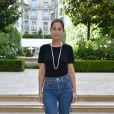 Marie-Ange Casta assiste au cocktail du créateur de bijoux David Yurman au Ritz à Paris, le 1er juillet 2019. © Giancarlo Gorassini/Bestimage