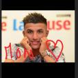Marion Bartoli affiche son amour pour le footballeur Yahya Boumediene sur son compte Instagram (2019).