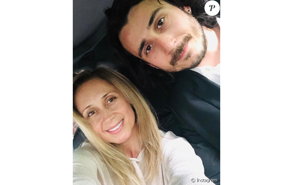 Lara Fabian et son mari Gabriel, le 3 juillet 2019.