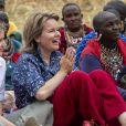 La reine Mathilde de Belgique et sa fille la princesse héritière Elisabeth ont été accueillies par la communauté massaï dans le comté de Kajiado le 27 juin 2019 dans le cadre d'une mission humanitaire sous l'égide d'UNICEF Belgique, dont l'épouse du roi Philippe est la présidente d'honneur.