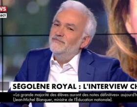 Pascal Praud au bord des larmes sur CNews le 5 juillet 2019.