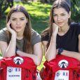 """Kleofina et Julia, candidats de """"Pékin Express 2019"""", photo officielle de M6"""