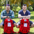 "Thomas et Mathieu, candidats de ""Pékin Express 2019"", photo officielle de M6"
