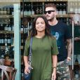 "Christina Milian et Matt Pokora (M. Pokora) font du shopping chez ""Wally's"" à Beverly Hills. Los Angeles, le 15 novembre 2018."