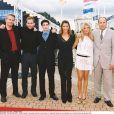 Photocall du film American Pie 2 au 27e festival de Deauville, en 2001