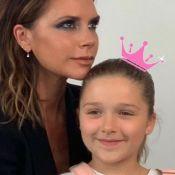 Victoria Beckham : Sa fille Harper pose exactement comme elle