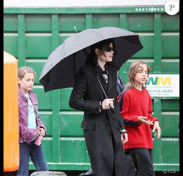 Les enfants de Michael Jackson, Michael Joseph Jackson, et Paris Michael Katherine Jackson