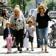 Heidi Klum en famille à New York, le 25 juin 2009
