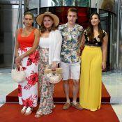 Stéphanie de Monaco : Look estival avec ses enfants, Albert en chemise à fleurs
