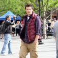 Tournage de Glee à New York, le 29 avril 2011.