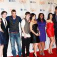 Le casting de Glee lors des People Choice Awards, le 6 janvier 2010 à Los Angeles.