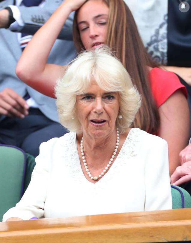 Camilla Parker Bowles, duchesse de Cornouailles - Les personnalités assistent au tournoi de Wimbledon à Londres, le 10 juillet 2019.