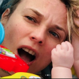Diane Kruger fête ses 43 ans à Paris avec sa fille et son compagnon Norman Reedus, le 15 juillet 2019.