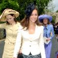 Kate Middleton à un mariage en 2005.