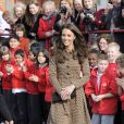 Kate Middleton à Oxford en 2012.