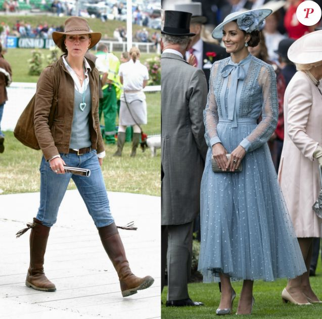 L'évolution du style de Kate Middleton, de l'étudiante presque ordinaire à la duchesse du recylage.