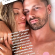 Camille Schneiderlin (Koh-Lanta) toujours plus amoureuse de son mari le footballeur Morgan Schneiderlin depuis la naissance de leur fils Maé le 10 octobre 2018.