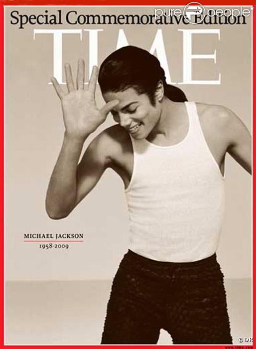 Couverture du Hors-Série consacré à Michael Jackson par le magazine américain TIME