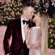 Tom Brady et sa femme Gisele Bundchen à la 71ème édition du MET Gala au Metropolitan Museum of Art à New York, le 6 mai 2019.