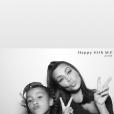 Kim Kardashian et sa fille North sur Instagram.