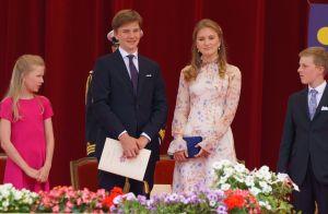 Princesse Elisabeth : Habillée par Natan, elle illumine la Fête nationale belge
