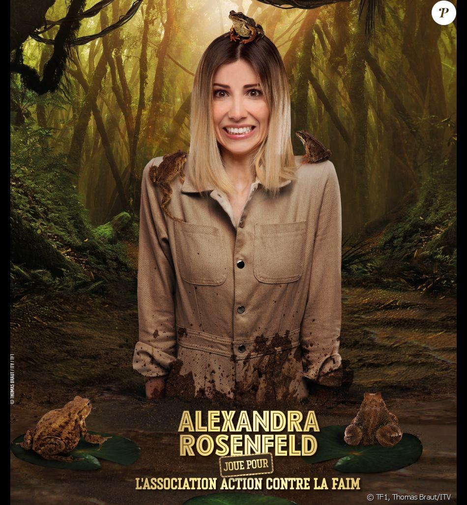 """Alexandra Rosenfeld, photo officielle de """"Je suis une célébrité sortez-moi de là"""", sur TF1"""