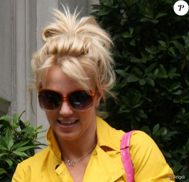 Britney Spears en blonde !