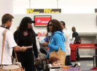 Lorsque les soeurs Williams prennent l'avion, elles sont siglées... de la tête aux pieds !