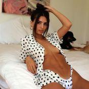 Emily Ratajkowski : Elle affronte la canicule en bikini...