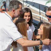 Letizia d'Espagne, Leonor et Sofia : Tendres supportrices de Felipe à Majorque