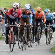 """Archives - Bjorg Lambrecht, Benoît Cosnefroy - 105ème """"UCI World Tour Liège - Bastogne - Liège"""". Le 28 avril 2019."""