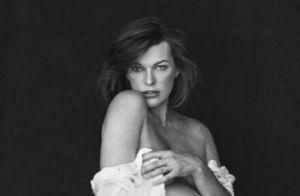 Milla Jovovich enceinte :