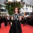 """Valérie Kaprisky - Montée des marches du film """"Ma Loute"""" lors du 69ème Festival International du Film de Cannes. Le 13 mai 2016. © Borde-Jacovides-Moreau/Bestimage"""