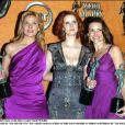 Kim Cattrall, Cynthia Nixon et Kristin Davis aux Guild Awards au Shrine Auditorium de Los Angeles, le 22 dévrier 2004.