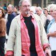 Richard Gotainer - Sorties des obsèques de Jean-Pierre Mocky en l'église Saint-Sulpice à Paris. Le 12 août 2019.