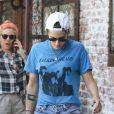 Kristen Stewart est allée déjeuner avec une amie dans le quartier de Los Feliz à Los Angeles, le 22 juillet 2019