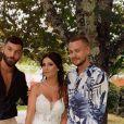 Jeremstar au mariage d'Anaïs Sanson le 19 août 2019, au Portugal