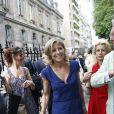 Claire Chazal au mariage de Laurence Ferrari et Renaud Capuçon