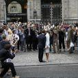 Vendredi 3 juillet 2009 : Laurence Ferrari et Renaud Capuçon se marient à la mairie du 16e arrondissement de Paris