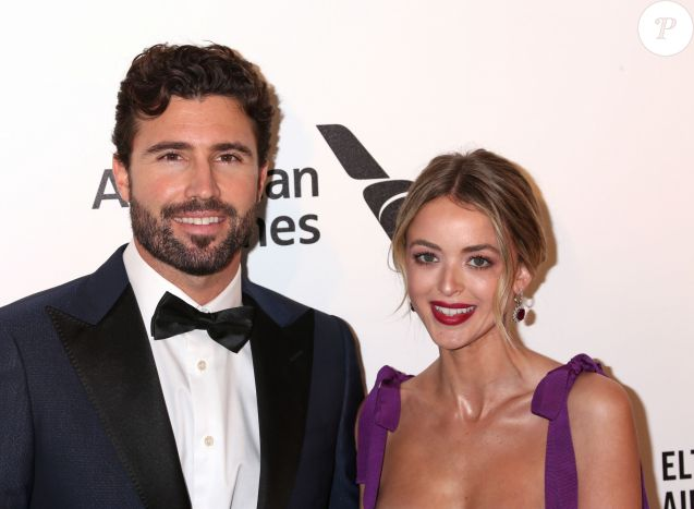 Brody Jenner and Kaitlynn Carter Jenner à la soirée caritative AIDS Foundation Academy Awards Viewing Party à Los Angeles le 24 février 2019.
