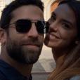 Marine Lorphelin et son compagnon sur Instagram.