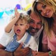 Ingrid Chauvin, Tom et Thierry Peythieu, Instagram, le 10 juin 2019
