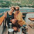 Darina Scotti-Vartan en vacances au Portugal, sur Instagram.