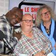 """Exclusif - Magloire, Bernard Mabille et Pierre-Jean Chalençon lors de l'émission """"Le Show de Luxe"""" sur Radio Voltage à Paris, France, le 26 juin 2019. © Philippe Baldini/Bestimage"""