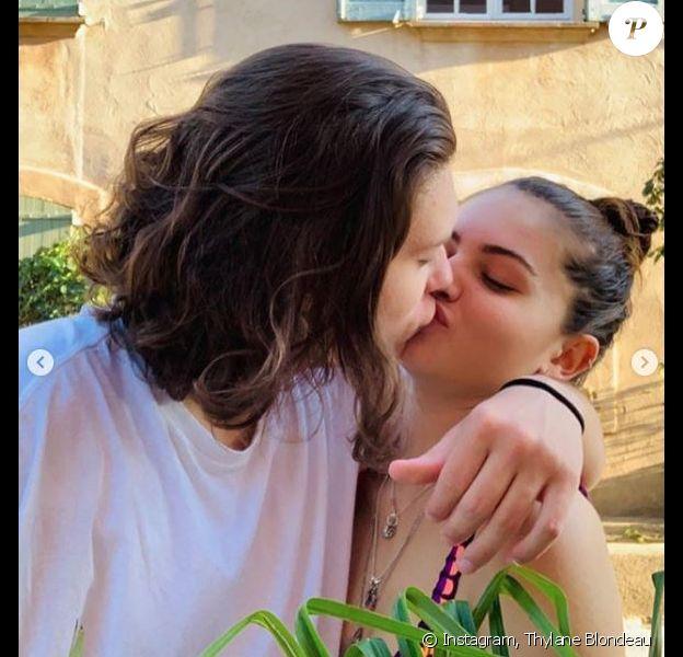 Thylane Blondeau et son petit ami, Milane. Août 2019.