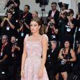 """Adele Exarchopoulos assiste à la projection du film """"Joker"""" lors du 76ème Festival du Film de Venise, la Mostra à Venise en Italie le 31 août 2019."""