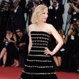 """Cate Blanchett assiste à la projection du film """"Joker"""" lors du 76ème Festival du Film de Venise, la Mostra à Venise en Italie le 31 août 2019."""