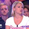 """Kelly Vedovelli dans """"Touche pas à mon poste"""", le 5 septembre 2019, sur C8"""