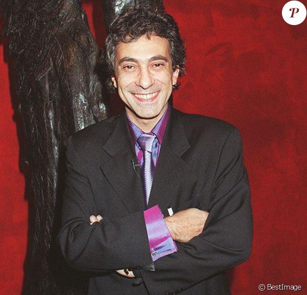 Philippe Berry lors d'un vernissage de ses oeuvres à Paris en 1998