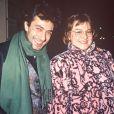 Philippe Berry et Josiane Balasko à L'Etoile à Paris en décembre 1990.
